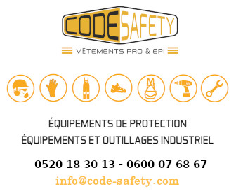 Code Safety - Equipement HSE Protection Securité - Outillage