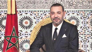 Photo of À  l'occasion  du 22 éme anniversaire  de l'Intronisation  de sa Majesté le Roi  Mohammed VI