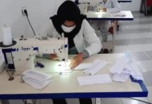 Photo of El Jadida ..Certification des masques de protection produits par des coopératives locales
